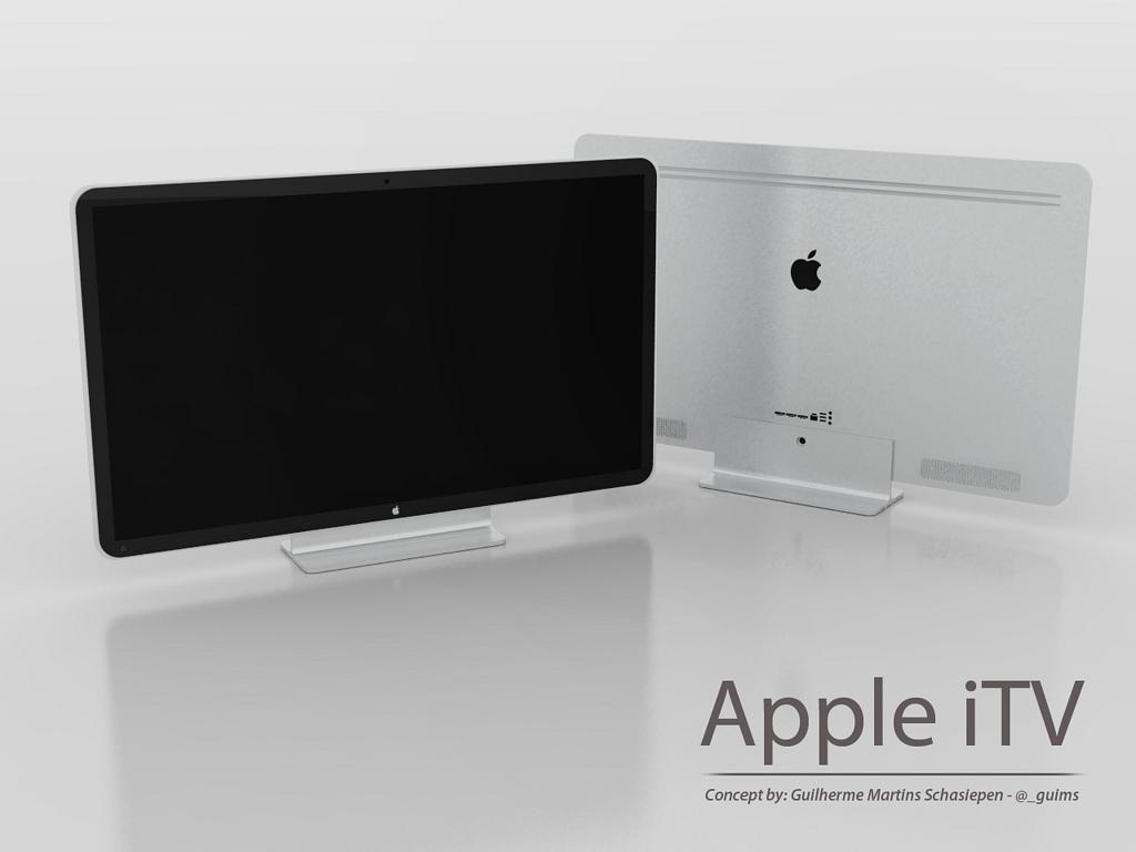 Diseño conceptual de la futura Apple iTV