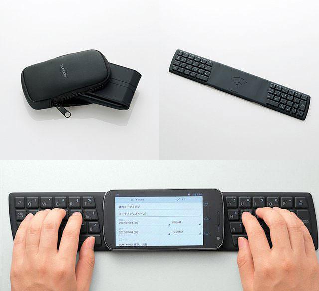 Teclado NFC para Android de Elecom