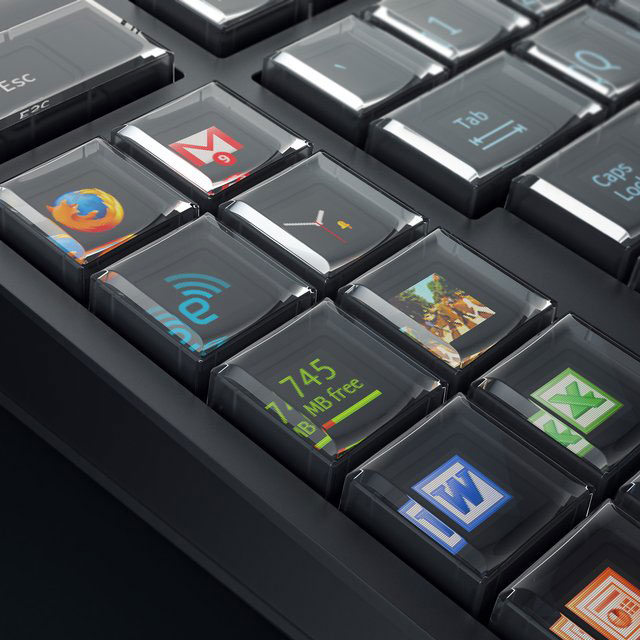 Teclado Optimus Maximus de Art. Lebedev Studio