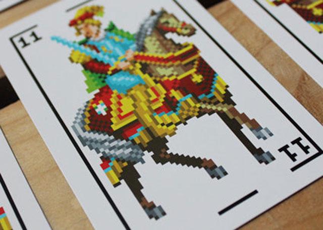 Cartas pixeladas