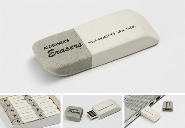 Goma de borrar USB