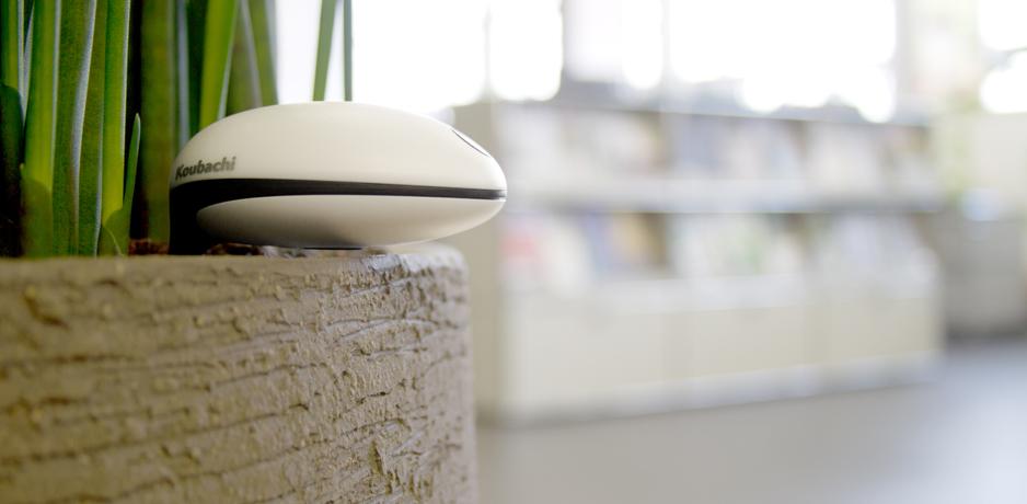 Sensor Wi-Fi para plantas de Koubachi