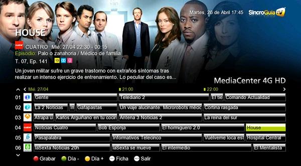Sincroguia de InOut TV